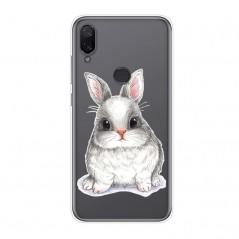 Pouzdro pro Huawei P30 lite, průhledný silikon králík