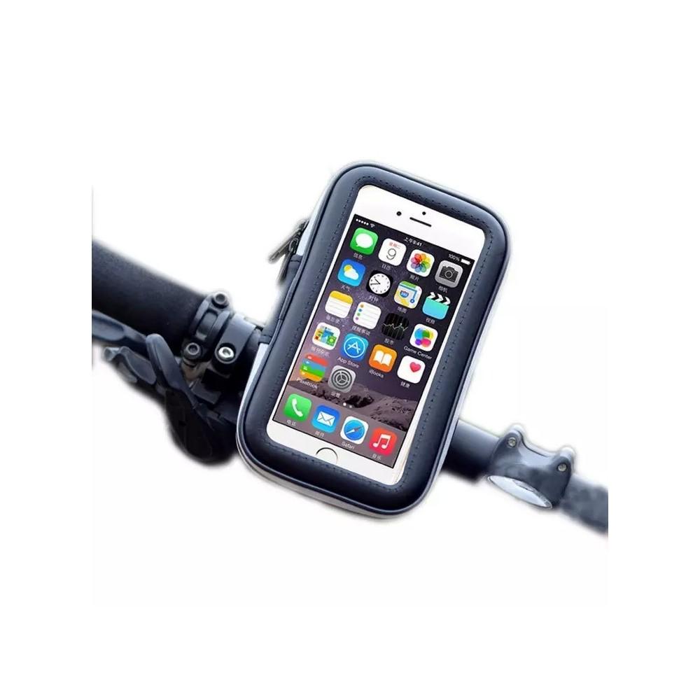 Univerzální pouzdro voděodolné s držákem na kolo, černé