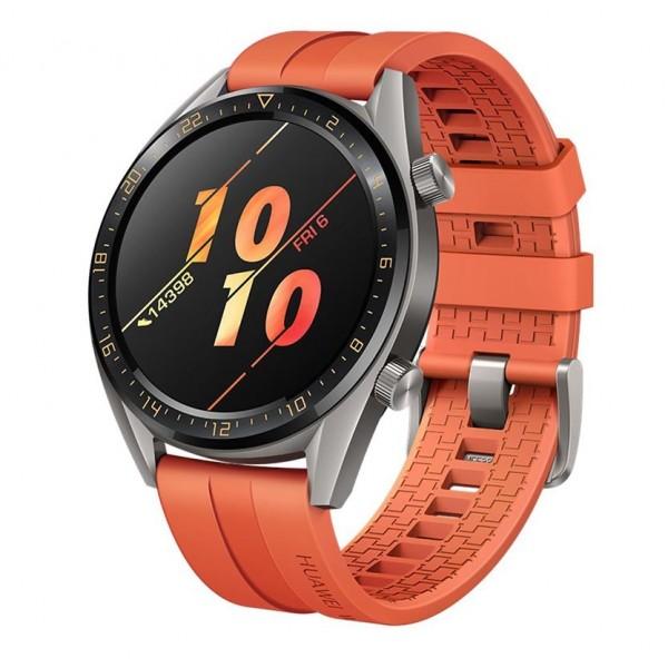 Huawei Watch GT Active, oranžová
