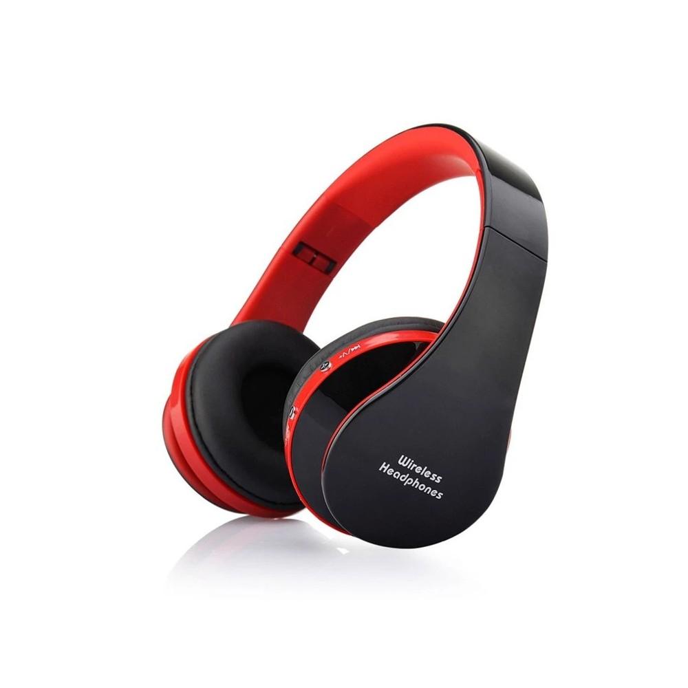 Symfony NX-8252 sluchátka bezdrátová, červenočerná