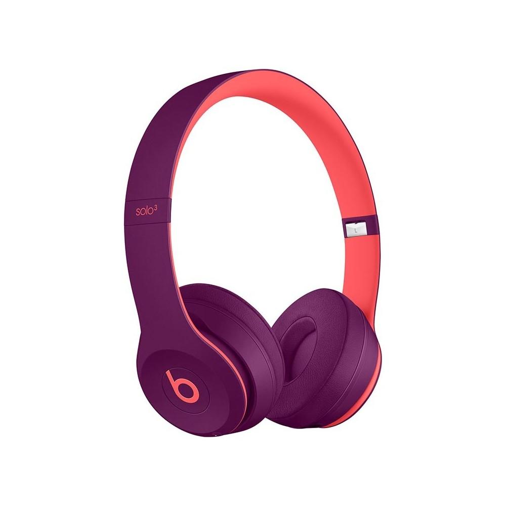 Beats Solo3 wireless sluchátka bezdrátová, fialová