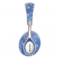 Bluedio A2 kvalitní Hi-Fi kovová sluchátka, květiny