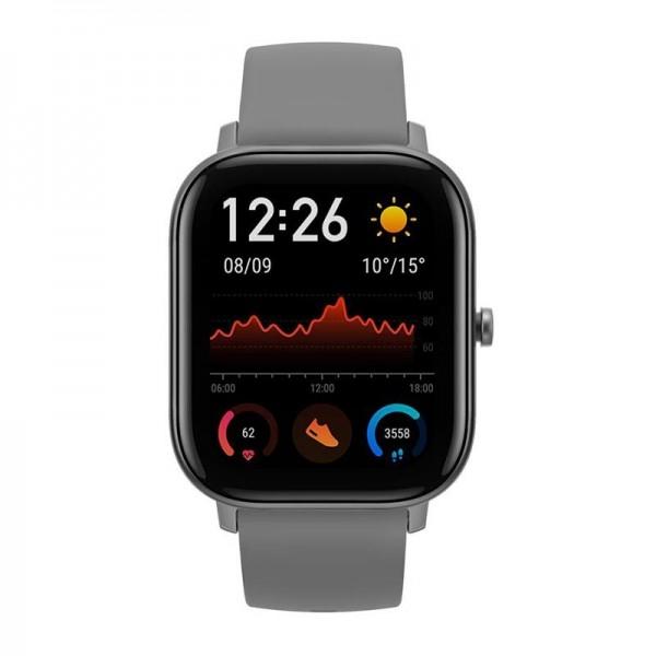 Xiaomi Amazfit GTS chytré hodinky, šedá