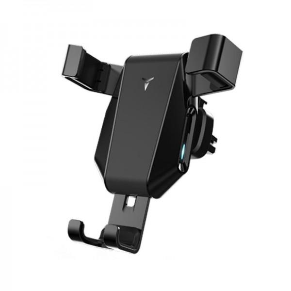 Univerzální držák na mobil do auta na ventilaci s bezdrátovým nabíjením