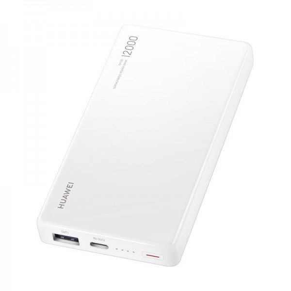 Huawei powerbank CP12S 12000mAh, bílá