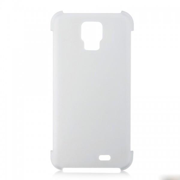 Pouzdro pro telefon DooGee DG310, tvrdší plast, průhledné, zadní pouzdro
