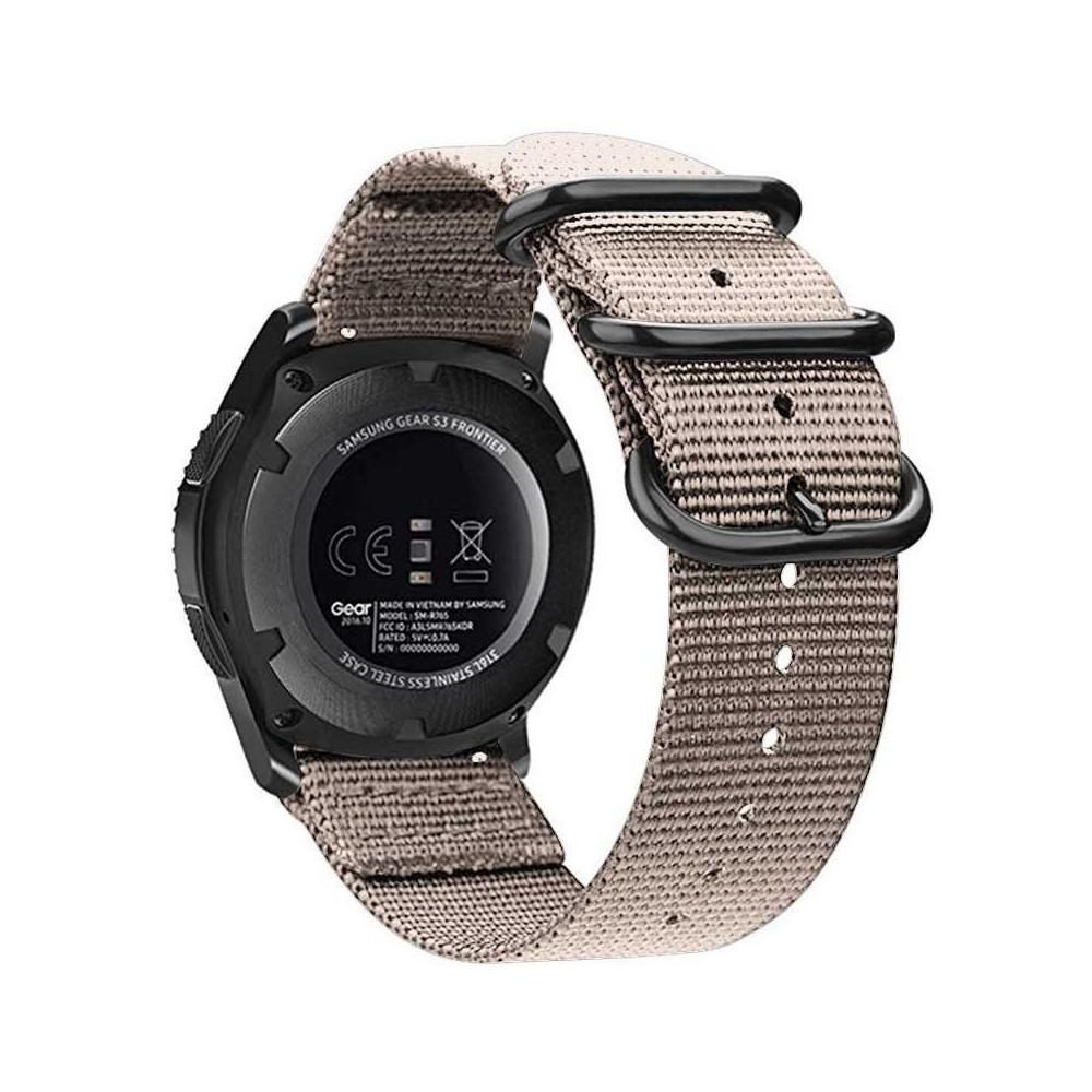 Symfony Náramek pro chytré hodinky 20 mm, nylon khaki