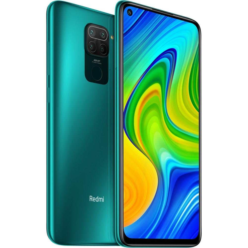 XIAOMI Redmi Note 9 3/64GB 5020mAh, zelená