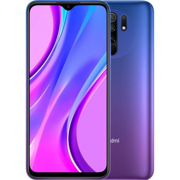 XIAOMI Redmi 9 4/64 GB NFC 5020mAh, fialová