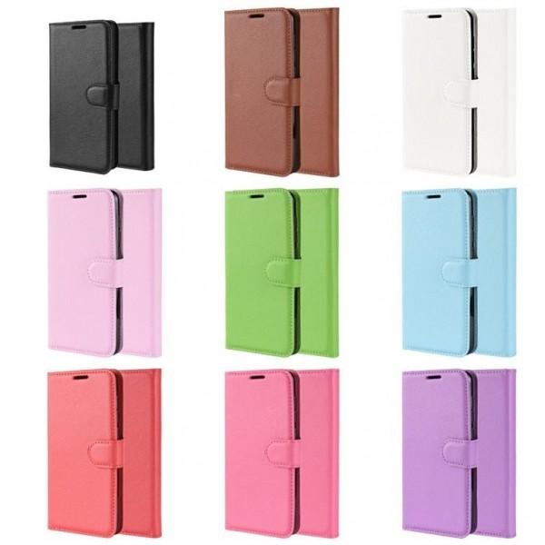 Pouzdro pro XIAOMI Redmi Note 8 Pro, flip hnědá
