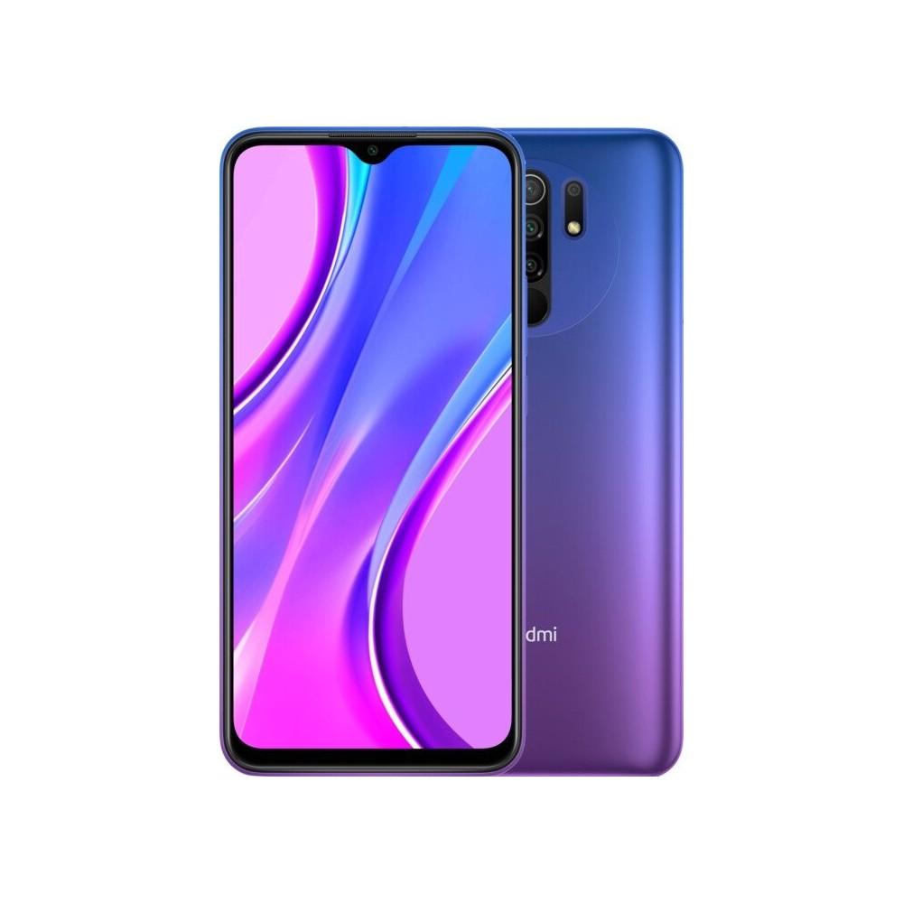 XIAOMI Redmi 9 4/64 GB bez NFC 5020mAh, fialový