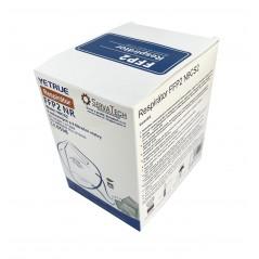 Respirátor FFP2 - N9CS2, CE, 25ks PE balení růžová