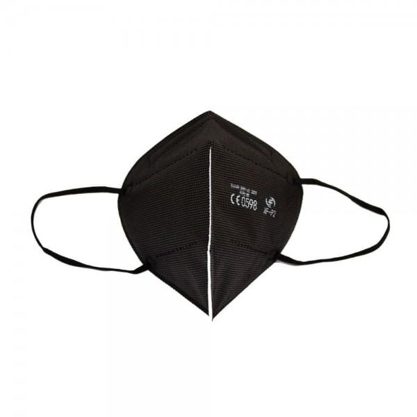 Respirátor FFP2 - XF-P2, CE, 1ks PE balení černý
