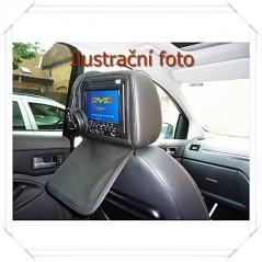 """Opěrka hlavy - 7"""" LCD, DVD, Zip kryt, 480 x 234 7 palců, ČERNÁ"""