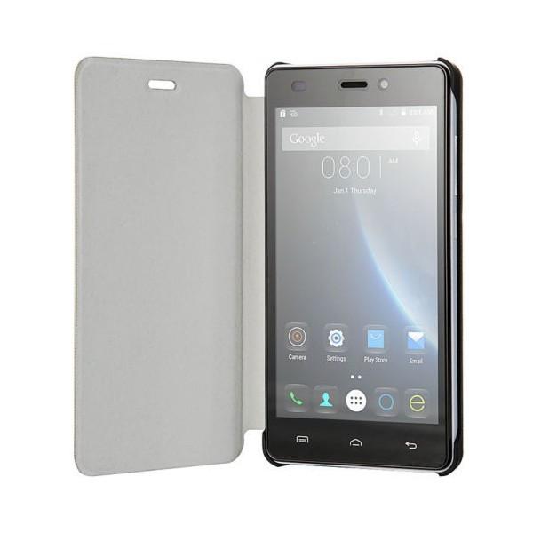 Flipové koženkové pouzdro pro telefon X5 a X5 PRO - bílé
