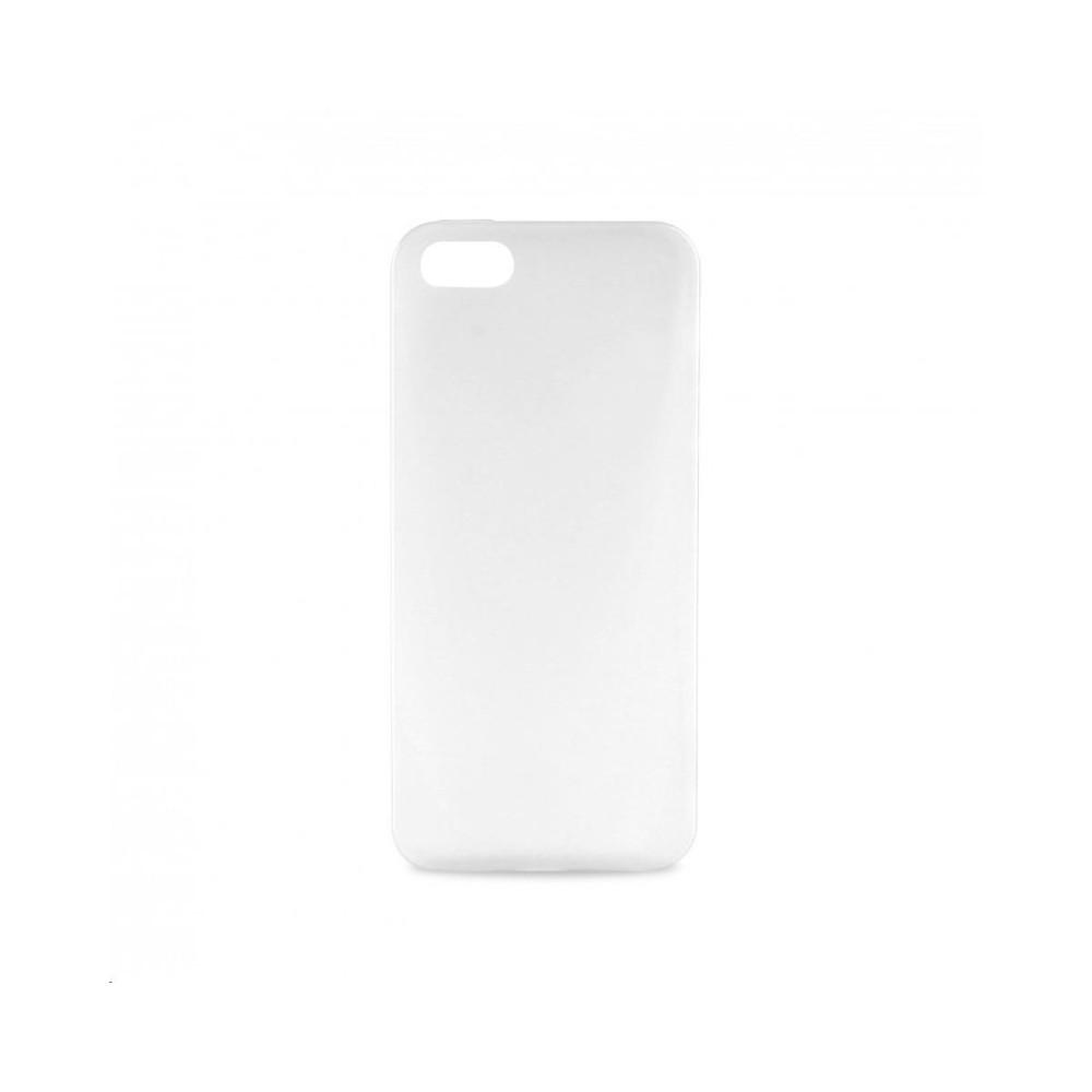 Plastové tenké pouzdro pro iPhone 5, bílé