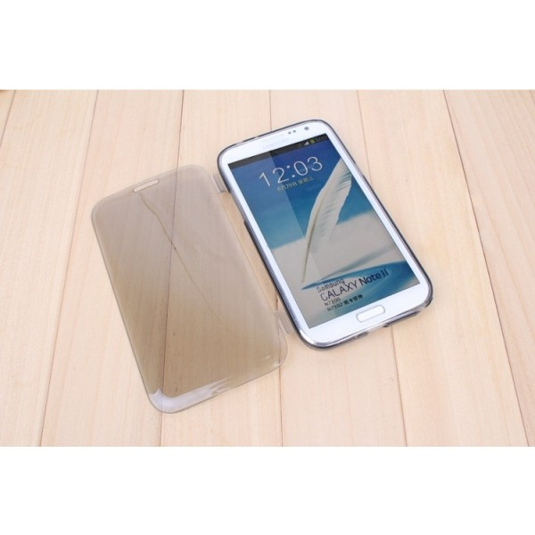 Silikonové flip pouzdro pro Samsung S6, černé