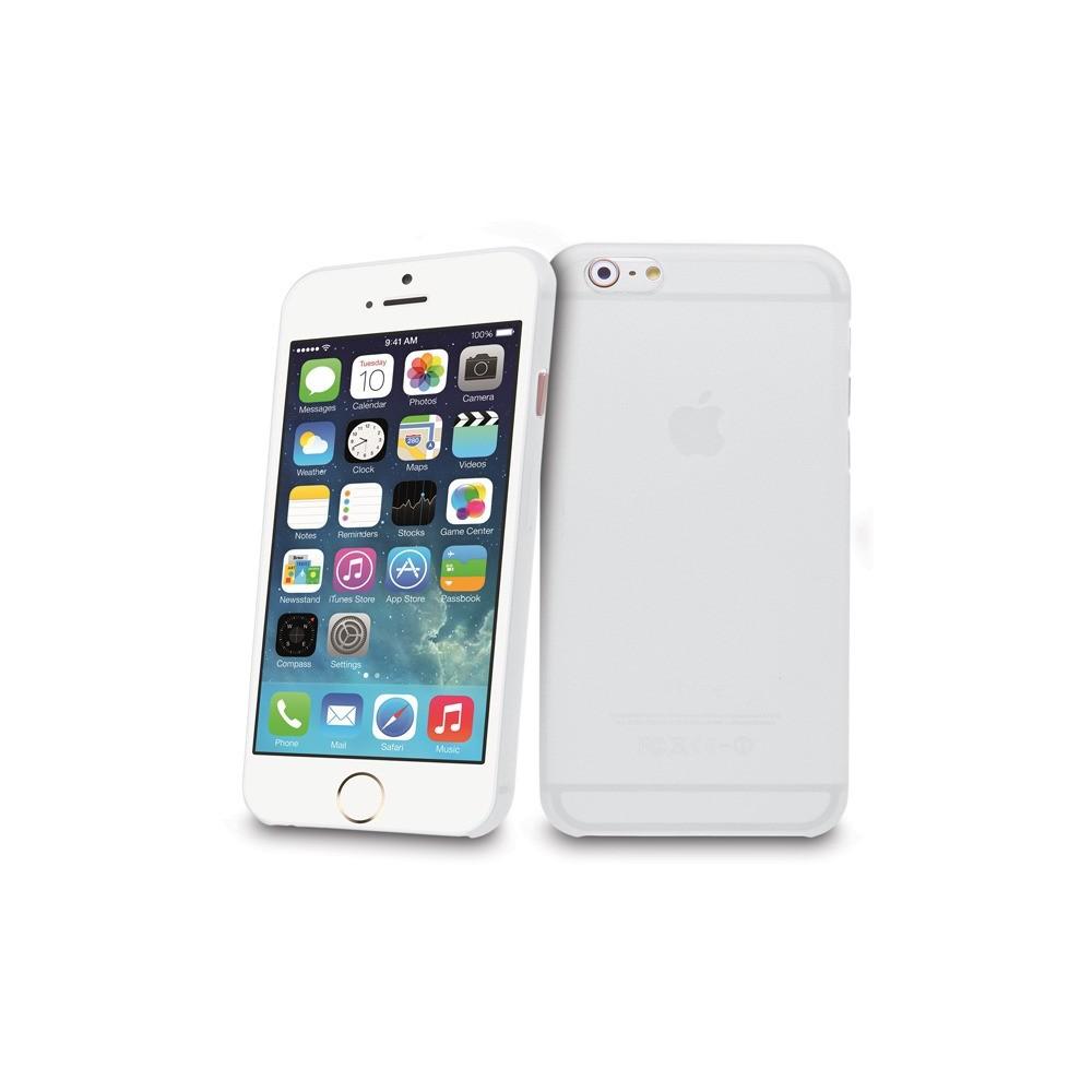 Tenké plastové pouzdro pro iPhone 6, bílé