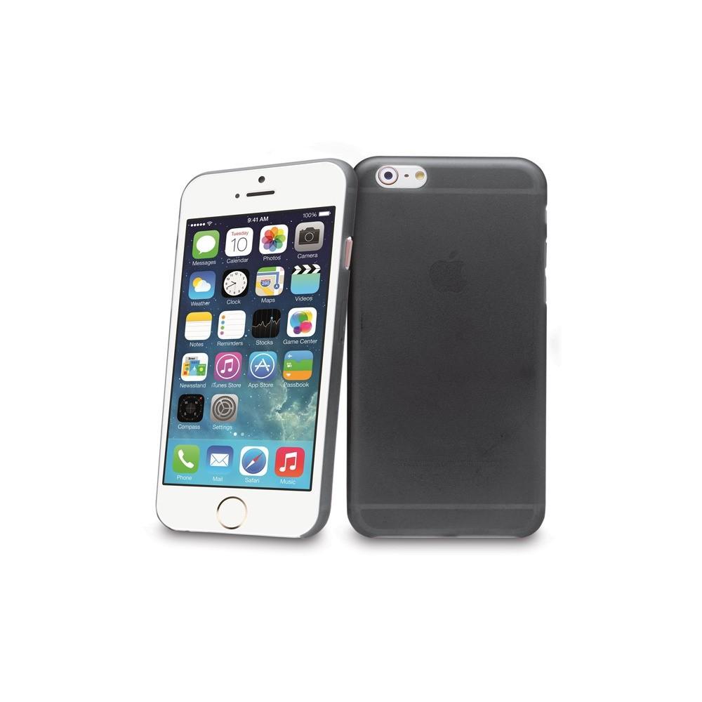 Tenké plastové pouzdro pro iPhone 6, černé