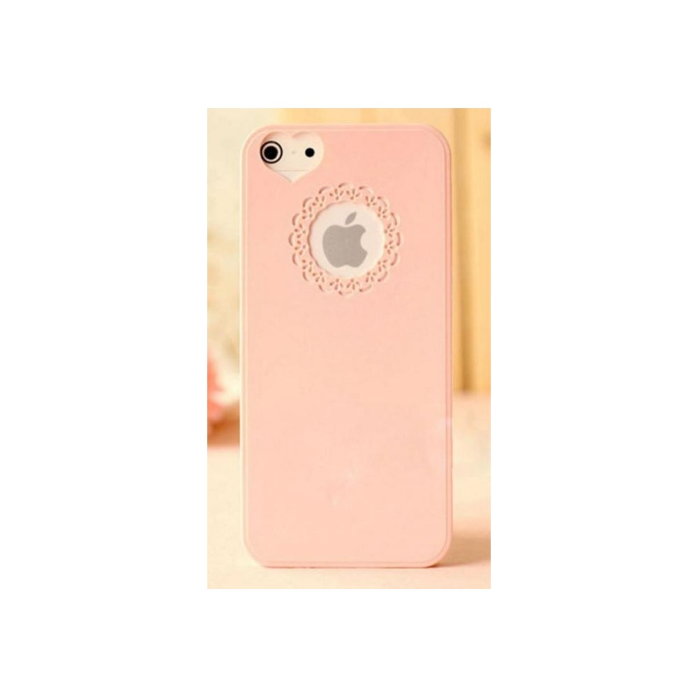 Plastový kryt Symfony pro iPhone 5, růžový