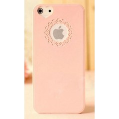 Plastový kryt pro iPhone 5, růžový