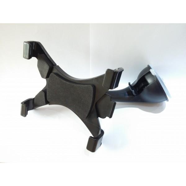 Držák na tablet nebo navigaci do auta - flexi noha, přísavka, černý