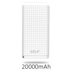 Power banka 20 000mAh bílá