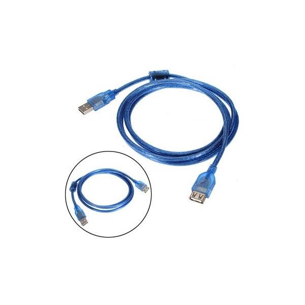 USB kabel 2.0, 1.8m  AM/AF