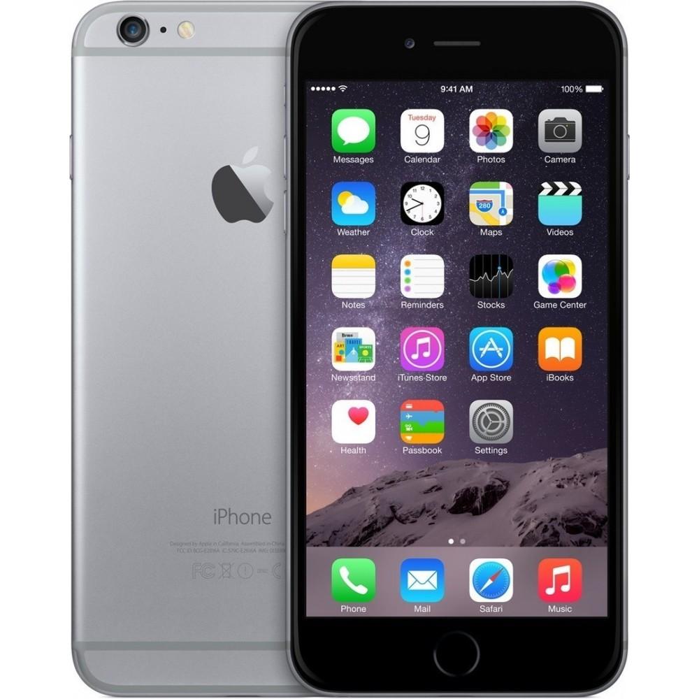 ZÁNOVNÍ iPhone 6 šedý 64GB, iOS8, NFC, LTE, STAV: A++