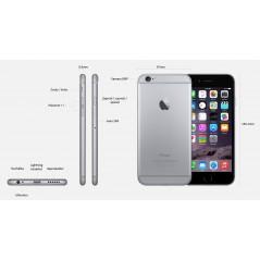 iPhone 6 šedý 1/64, iOS8, NFC, LTE + záruka 12 měsíců a servis