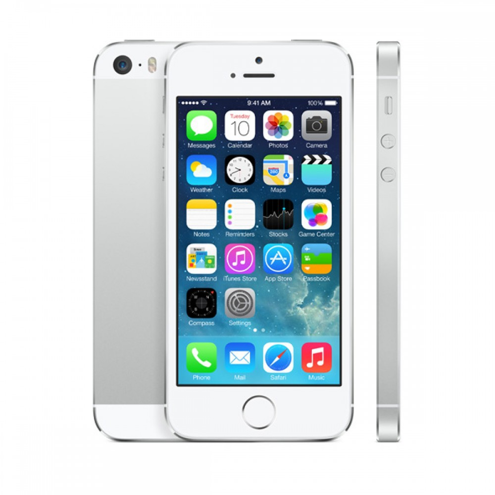 REPASOVANÝ iPhone 5 bílý 16GB, iOS6, LTE, STAV: A++ nový