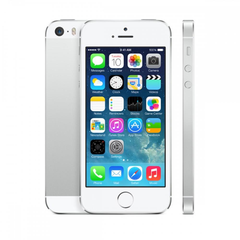 ZÁNOVNÍ iPhone 5 bílý 16GB, iOS6, LTE, STAV: A++