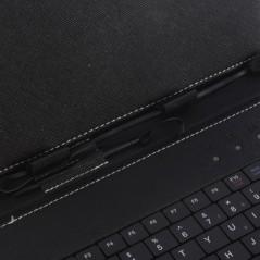 """Pouzdro s USB klávesnicí pro 7"""" tablety, koženka, EN klávesnice"""