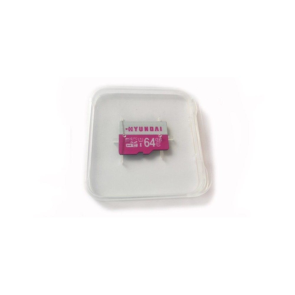 Hyundai microSD / mikro SD 64GB UHS-I, třída 10 a U1, HCI10