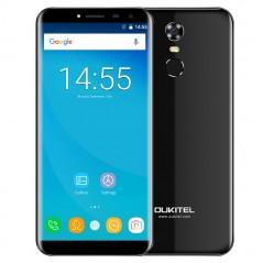 OUKITEL C8 černý 2/16GB, 4jádro, otisk + záruka 25 měsíců a servis