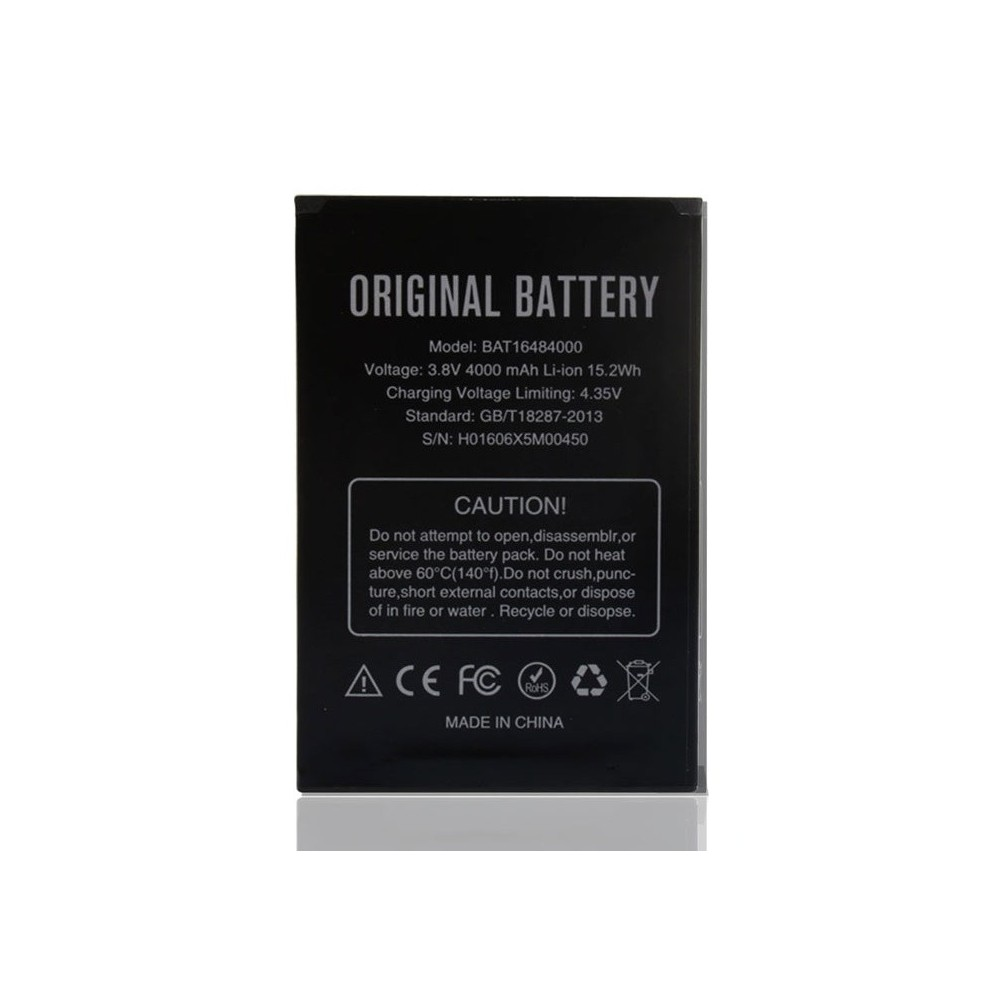 Originální baterie Doogee BAT16484000 pro mobilní telefon DooGee X5 MAX/ MAX Pro