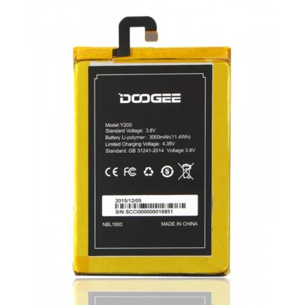 Baterie pro mobilní telefon DooGee Y200