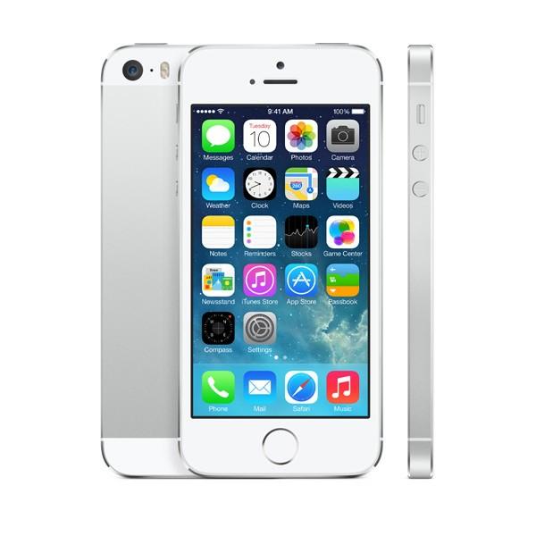 ZÁNOVNÍ iPhone 5 bílý 32GB, iOS6, LTE, STAV: A++