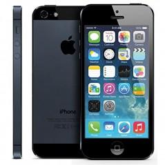 ZÁNOVNÍ iPhone 5 černý 64GB, iOS6, LTE, STAV: A++