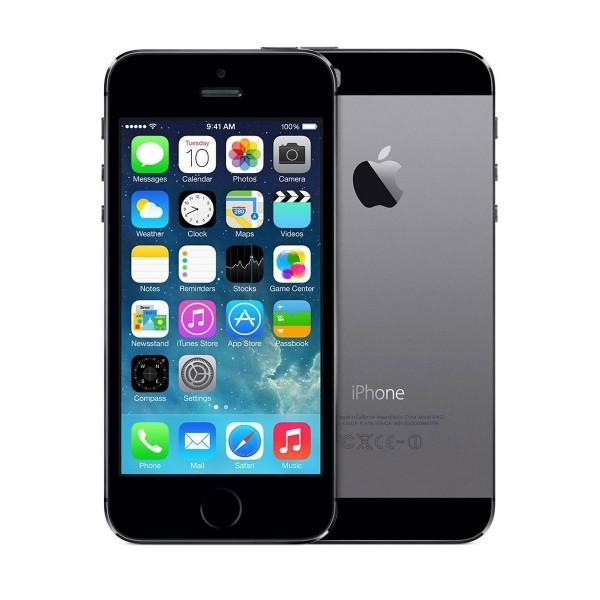 ZÁNOVNÍ iPhone 5s šedý 32GB, iOS7, LTE, STAV: A++