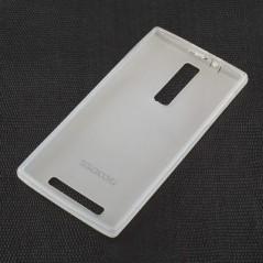 Silikonový kryt pro telefon DooGee DG2014 bílý, průhledný