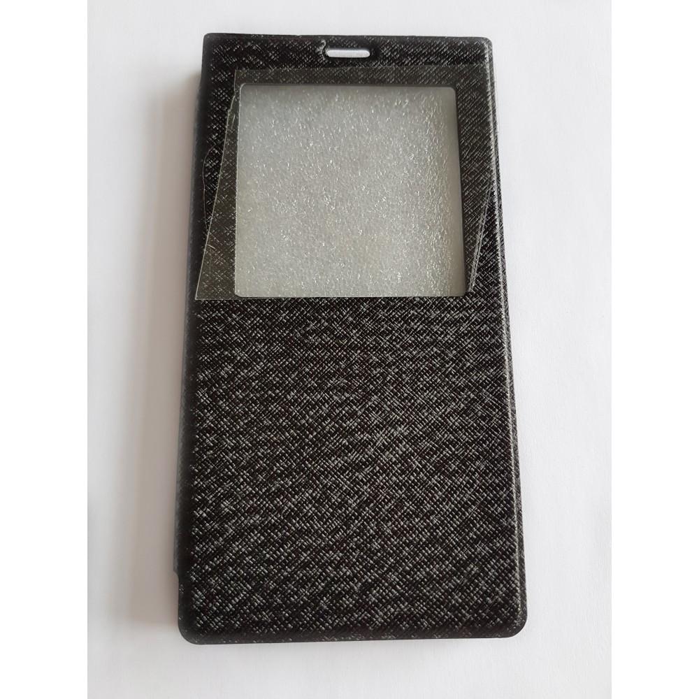 Flippové pouzdro pro telefon Symfony S55 černé