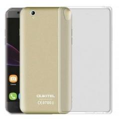 Silikonový kryt pro OUKITEL U7 MAX transparetní