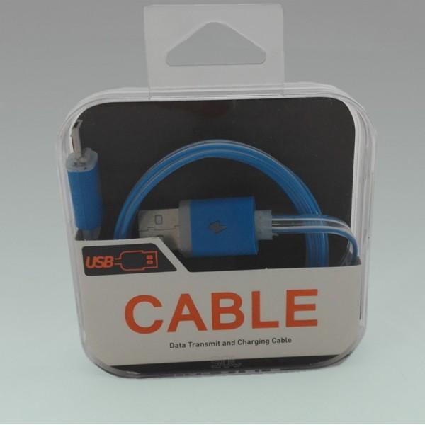 Micro USB kabel s delším konektorem