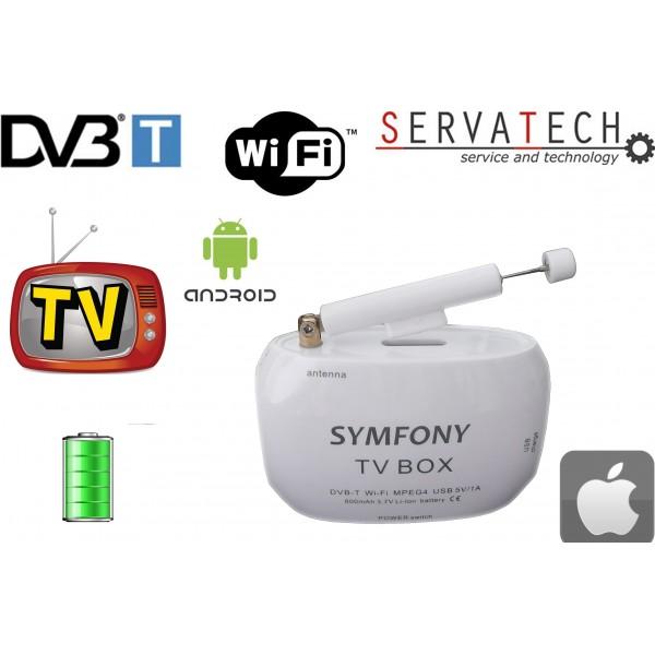 TV BOX DVB-T televizní přijímač s Wi-Fi, univerzální