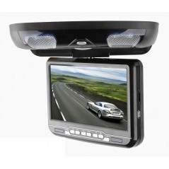 """Stropní DVD - 9"""" LCD, DVB-T, ČERNÝ"""