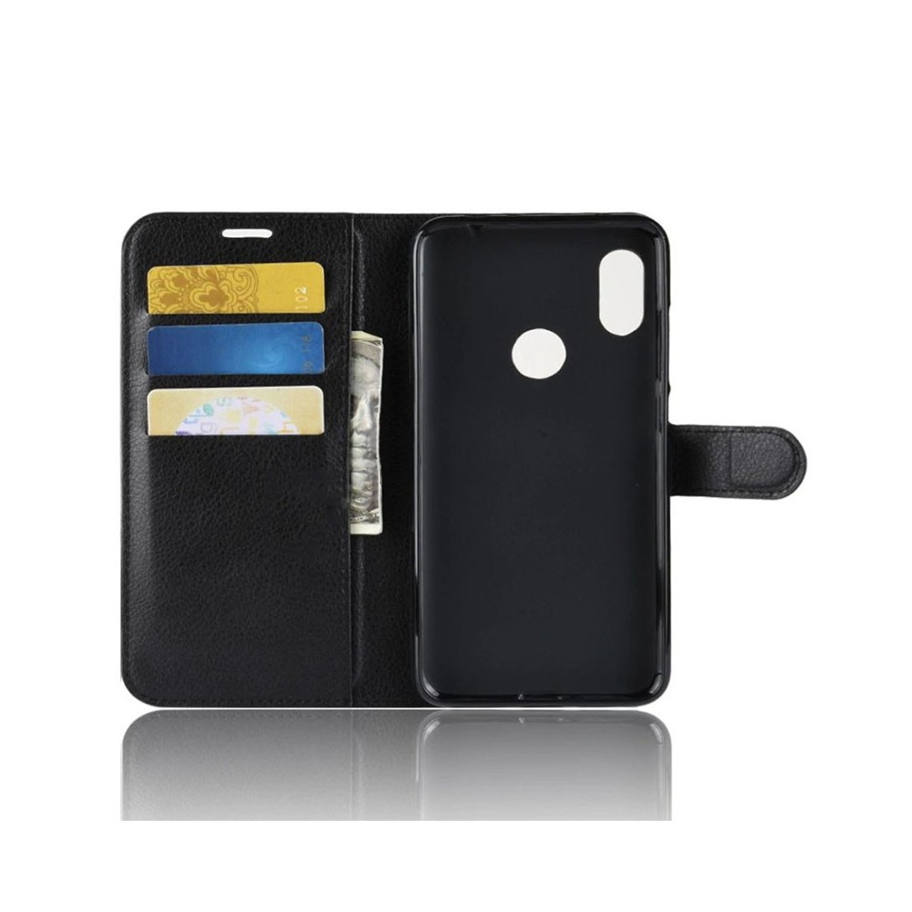 Pouzdro pro XIAOMI Redmi Note 6 Pro, flip černá