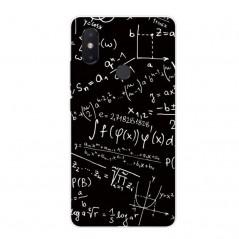 Pouzdro pro XIAOMI Mi 8 lite, silikon matematika