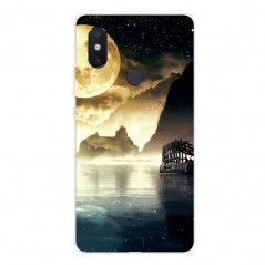 Pouzdro pro Xiaomi Mi 8 lite, silikon mořský záliv