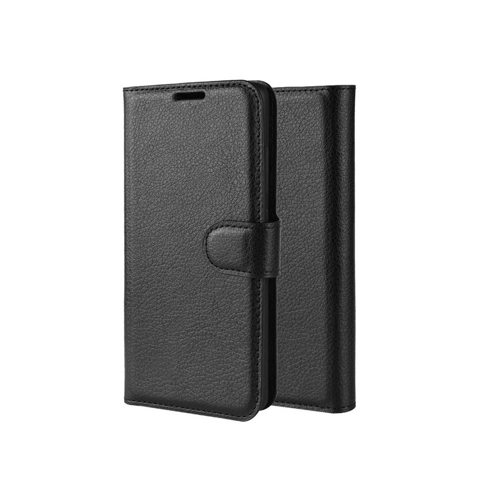 Pouzdro pro Xiaomi Redmi 7 a Redmi Note 7, flip černá